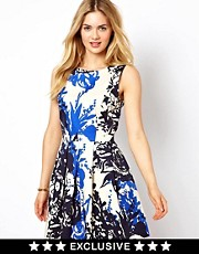 Closet Sleeveless Skater Dress