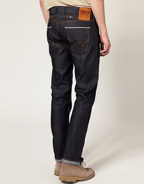 Image 2 of Edwin Sen Japanese Red Selvage Skinny Jeans