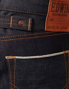 Image 4 of Edwin Sen Japanese Red Selvage Skinny Jeans