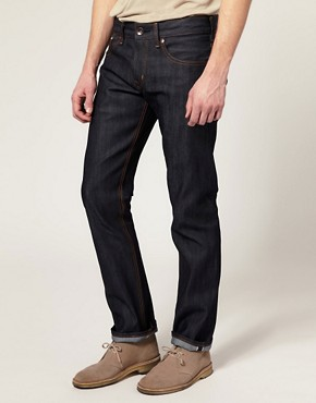 Image 1 of Edwin Sen Japanese Red Selvage Skinny Jeans