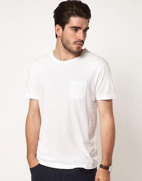 Image 1 ofGant Rugger T-Shirt with One Pocket