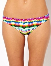 ASOS Mexican Print Brazilian Bikini Pant
