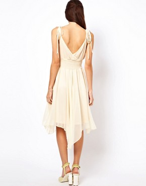 Image 2 ofTraffic People Silk Midi Dress