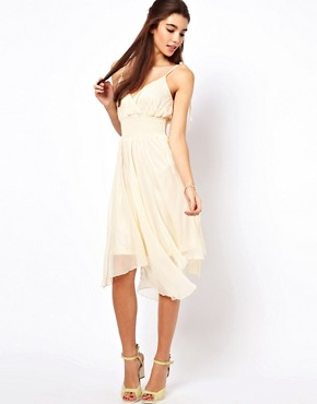 Image 4 ofTraffic People Silk Midi Dress