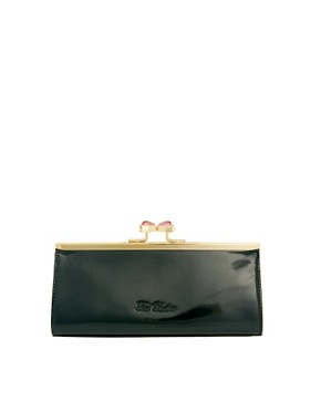 Image 1 ofTed Baker Leather Evangel Frame Purse