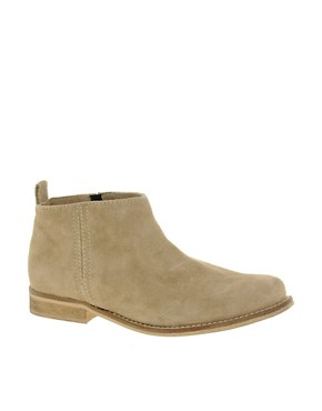 Image 1 of ASOS ADVANCE Suede Chelsea Ankle Boots