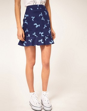 Image 4 ofASOS Poodle Pocket Mini Skirt