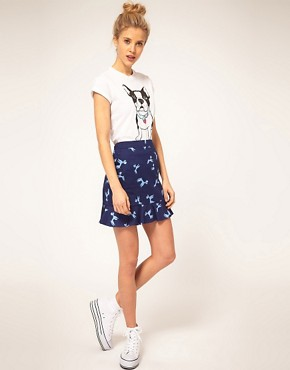 Image 1 ofASOS Poodle Pocket Mini Skirt