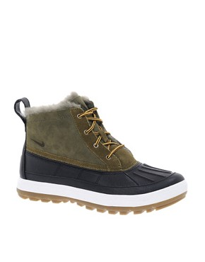 Image 1 ofNike Woodside Chakka Lace Up Duck Ankle Boots