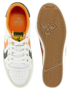 Image 3 ofHummel Stadil Low Trainers