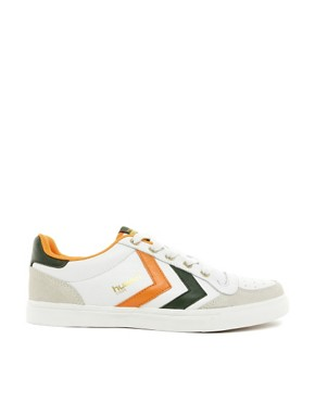 Image 4 ofHummel Stadil Low Trainers