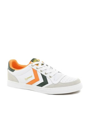Image 1 ofHummel Stadil Low Trainers