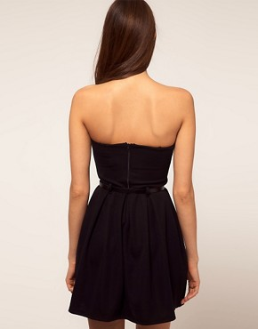 Image 2 ofPaprika Strapless Belted Dress
