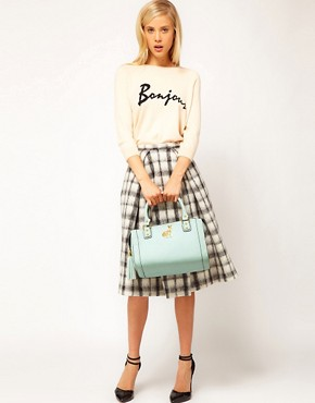 Image 3 ofASOS Tassel Bowler Bag With Rabbit Fitting