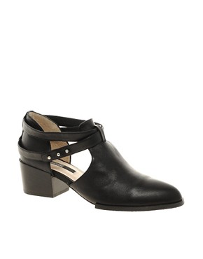 Image 1 ofSenso Quimat Strap Heeled Ankle Boots