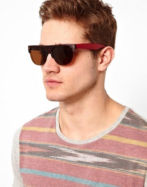 Image 3 ofA J Morgan Flat Brow Sunglasses