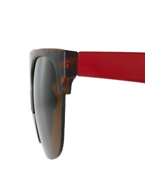 Image 4 ofA J Morgan Flat Brow Sunglasses