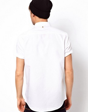 Image 2 ofRiver Island Oxford Short Sleeved Shirt