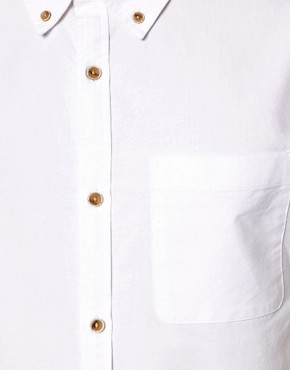 Image 3 ofRiver Island Oxford Short Sleeved Shirt