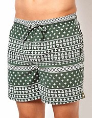Shorts de bao Mkholo de Afends