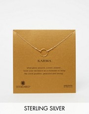 Dogeared Gold Dipped Original Karma Necklace