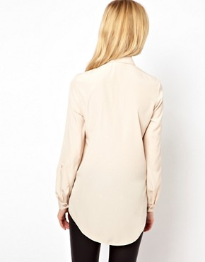 Image 2 of River Island Stud Collar Blouse