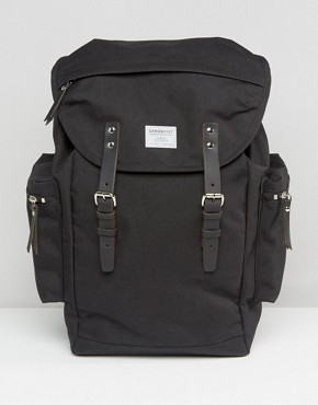 Sandqvist Lars Goran Cordura Backpack In Black