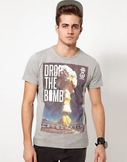 Crosshatch T-Shirt Drop The Bomb