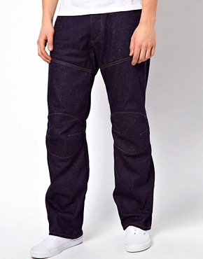 Image 1 ofG Star Jeans Elwood 3D Loose Fit Rigid Raw