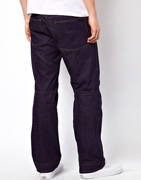 Image 2 ofG Star Jeans Elwood 3D Loose Fit Rigid Raw