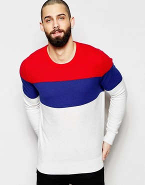 Hilfiger Denim Jumper with Colourblock