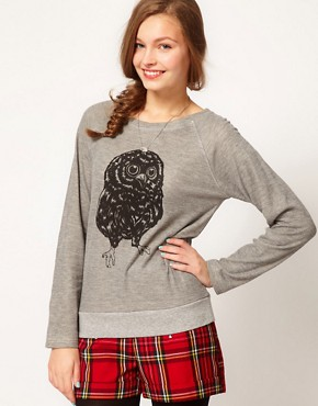 Image 1 ofBrat &amp; Suzie Owl Sweatshirt
