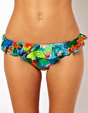 Seafolly Paradise Hipster Bikini Pant With Frill