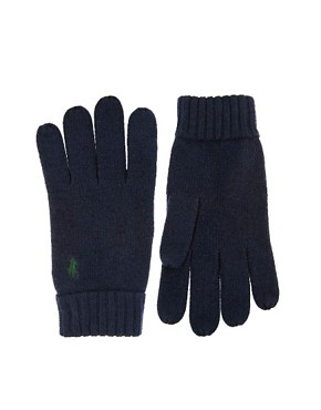 Image 1 ofPolo Ralph Lauren Polo Player Gloves