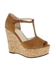 Ganni Flora Wedge Sandals