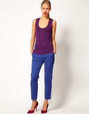 M Missoni Cropped Tailored Trousers