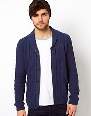 ASOS Lightweight Cable Cardigan