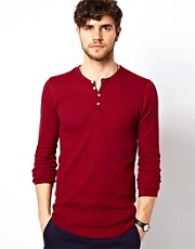 American Apparel Henley Top