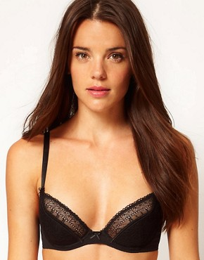 Image 1 ofTriumph Lovely Temptation Deep Plunge Bra