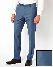 River Island King Fisher Suit Trousers
