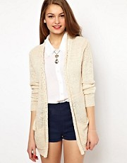 A Wear Woven Back Cardigan