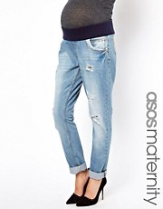 New Look Maternity – Boyfriend-Jeans