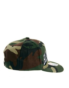 Image 2 ofZephyr Blackhawks Camo Snapback Cap