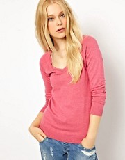 River Island Basic V Neck Jumper