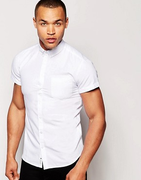 Minimum Oxford Shirt with Short Sleeves