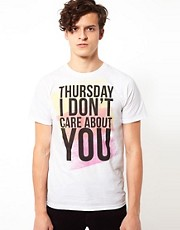 Camiseta Thursday de Se7en