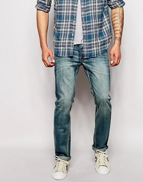 Bellfield Vintage Wash Slim Fit Jeans