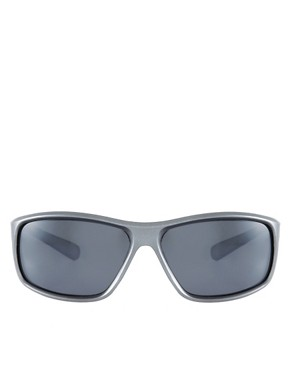 Image 2 ofASOS Matt Finish Large Wrap Sunglasses