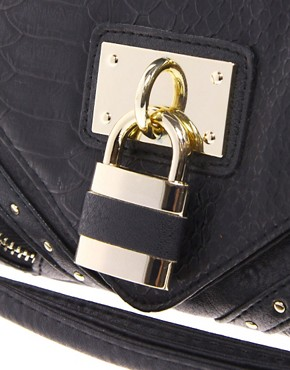 Image 4 ofNew Look Paris-Padlock Clutch