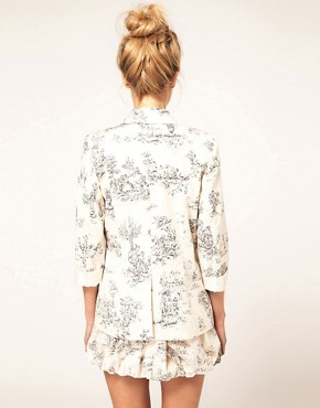 Image 2 ofASOS Blazer in Scenic Print